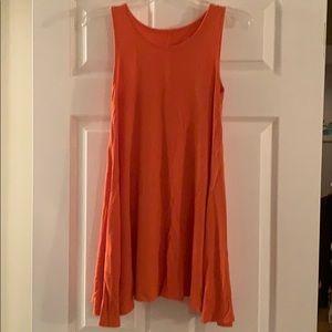 Decree Orange tank dress
